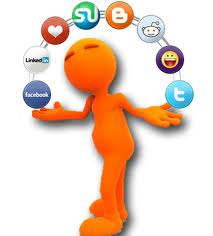 You need to juggle your social media profile